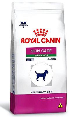 Ração Royal Canin Canine Veterinary Skin Care Small Dog para Cães com Doenças de Pele - 2Kg