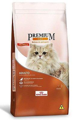 Ração Royal Canin Premium Cat Beleza da Pelagem para Gatos Adultos - 1Kg ou 10,1Kg