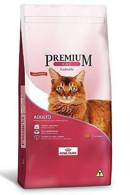 Ração Royal Canin Premium Cat para Gatos Adultos Castrados - 1Kg ou 10,1Kg