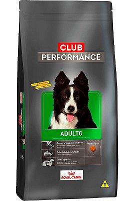Ração Royal Canin Premium Club Performance para Cães Adultos - 15Kg