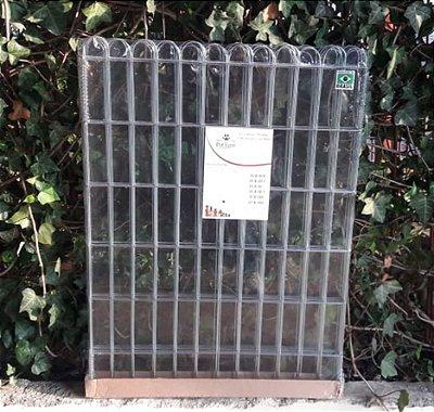 Cercado para Cachorro Modular Galvanizado com Mola 85x60 com 4 telas - Pet Ferri