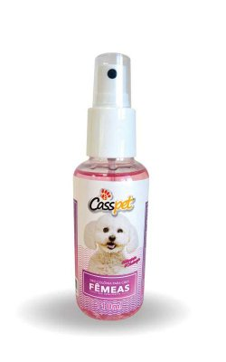 Deo Colonia Spray Casspet para Cães Fêmea - 110ml