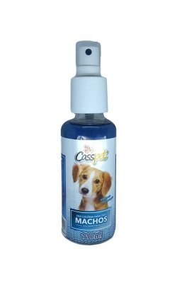 Deo Colonia Spray Casspet para Cães Macho- 110ml