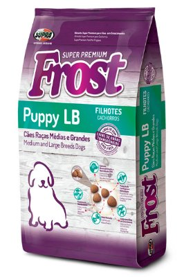 Ração Frost Puppy LB Super Premium Raças Grandes para Cães Filhotes - 15kg