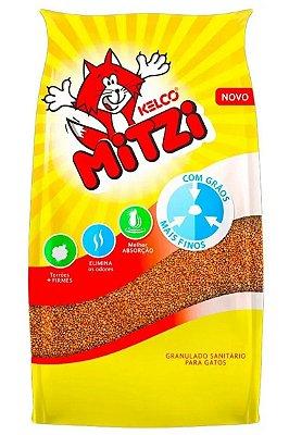 Areia para Gatos Mitzi Kelco Granulado Sanitário - 4kg