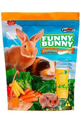 Ração Supra Funny Bunny Delícias da Horta Coelhos e Pequenos Roedores - 500g