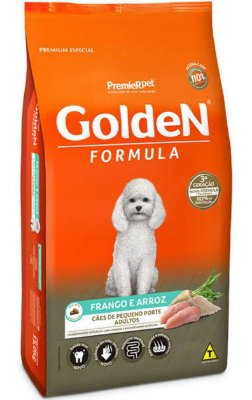 Ração Golden Formula Frango e Arroz Mini Bits para Cães Adultos de Raças Pequenas - 3Kg