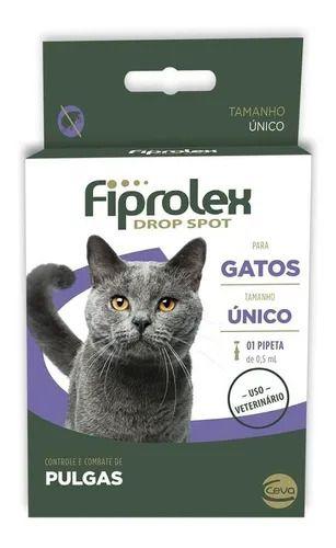 Antipulgas Fiprolex Drop Spot Ceva para Gatos - 1 pipeta avulsa