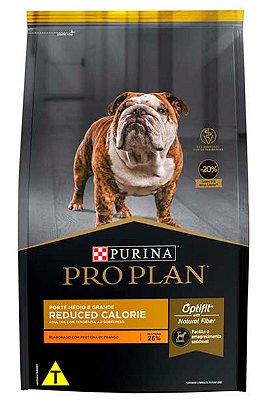 Ração Nestlé Purina Pro Plan Reduced Calorie para Cães Adultos Médios e Grandes - 15kg
