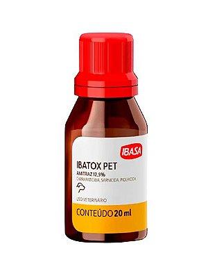 Ectoparasiticida Ibatox Ibasa Pet para Cães - 20 mL