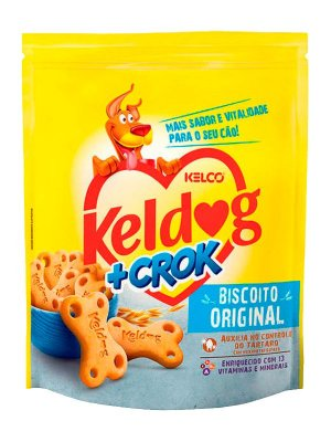 Biscoito Keldog +Crok Original - 400g