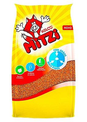 Areia para Gatos Mitzi Kelco Granulado Sanitário - 12kg
