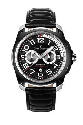 Relógio Jean Vernier Masculino Pulsion JV00097C
