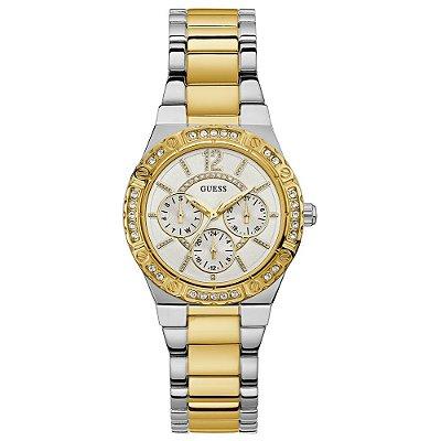 Relógio Guess Feminino Crystals W0845L5 - 92662LPGSBA2