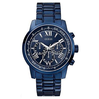 Relógio Guess Masculino Blue-Tone W0379G5 - 92526GPGDEA4