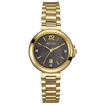 Relógio Bulova Feminino Diamond WB27903R