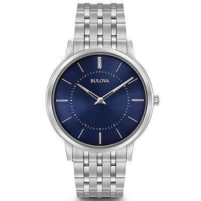 Relógio Bulova Masculino Slim WB22436F