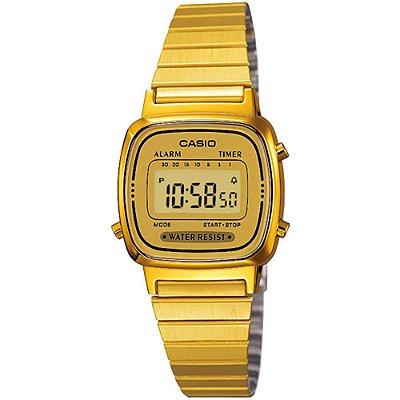 Relógio Casio Feminino Vintage Collection LA670WGA-9DF