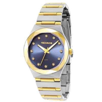 Relógio Technos Feminino Elegance Crystal Swarovski 2035MFI/5A