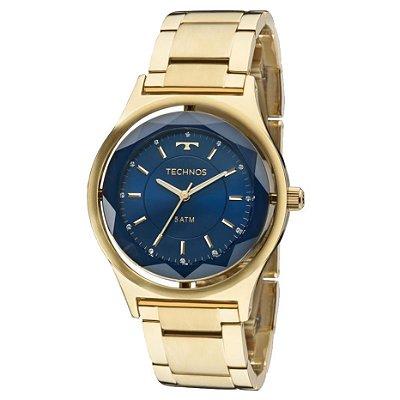 Relógio Technos Feminino Elegance Crystal 2035MIC/4A