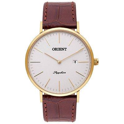 Relógio Orient Masculino Slim Safira MGSCS005 S1NX