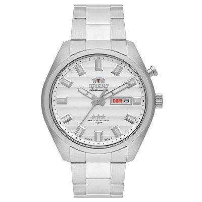 Relógio Orient Masculino 3 Estrelas Automático 469SS076 S1SX