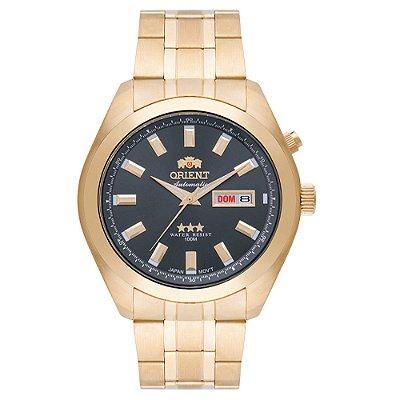 Relógio Orient Masculino 3 Estrelas Automático 469GP075 G1KX