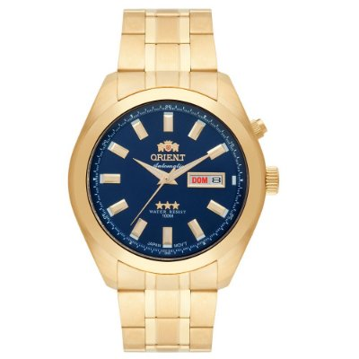 Relógio Orient Masculino 3 Estrelas Automático 469GP075 D1KX
