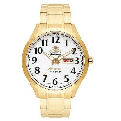 Relógio Orient Masculino 3 Estrelas Automático 469GP074 S2KX