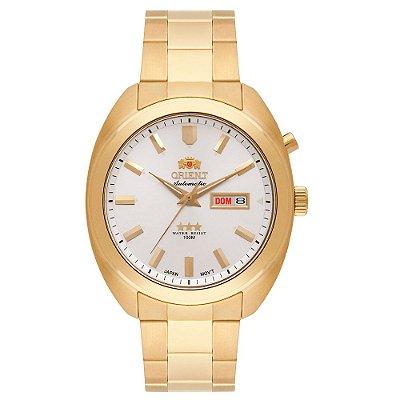 Relógio Orient Masculino 3 Estrelas Automático 469GP077 S1KX