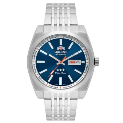 Relógio Orient Masculino 3 Estrelas Automático 469SS070 D1SX
