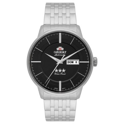 Relógio Orient Masculino 3 Estrelas Automático 469SS061 P1SX