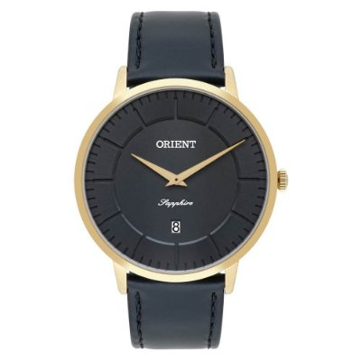 Relógio Orient Masculino Slim Safira MGSCS007 G1PX
