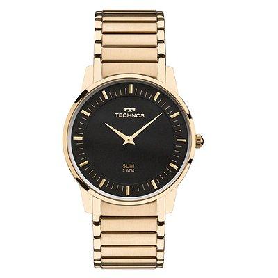 Relógio Technos Masculino Classic Slim GL20AQ/4P