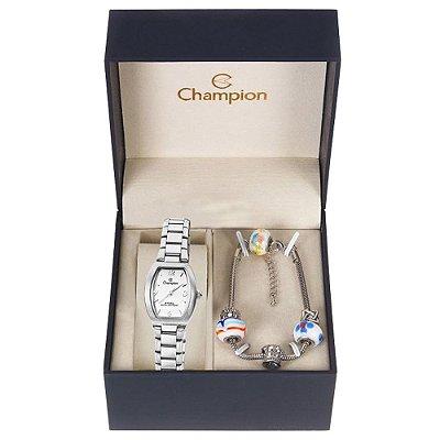Relógio Champion Feminino CA28216Y + Pulseira