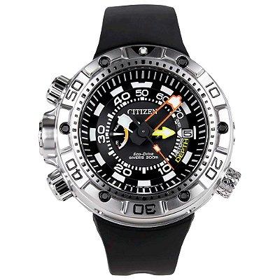Relógio Citizen Masculino Aqualand Marine Eco-Drive TZ30633D - BN2021-03E