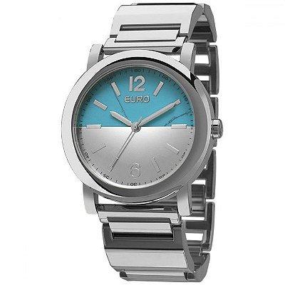 Relógio Euro Feminino Turquesa EU2033AJ/K3K + Pulseira