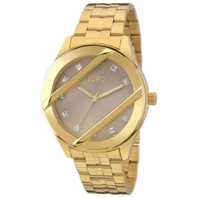 Relógio Euro Feminino Strappy EU2039JB/4C
