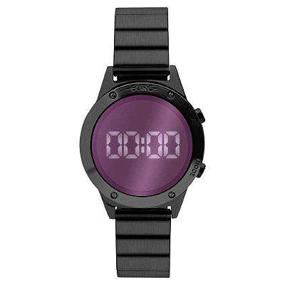 Relógio Euro Feminino Fashion Fit Reflexos Preto