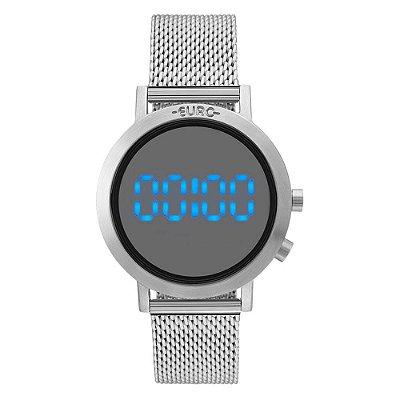 Relógio Euro Feminino Fashion Fit Prata EUBJ3407AB/3P