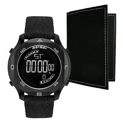 Relógio Mormaii Masculino Acqua Pro MO11273D/K2C com Porta Cartões