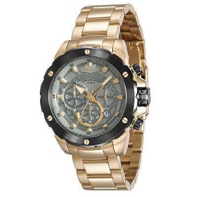 Relógio Seculus Masculino 13017GPSVDA1