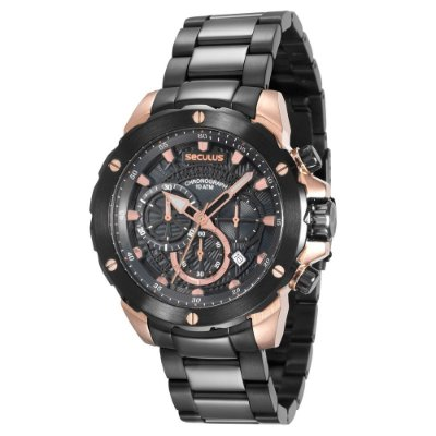 Relógio Seculus Masculino 13017GPSVIA2