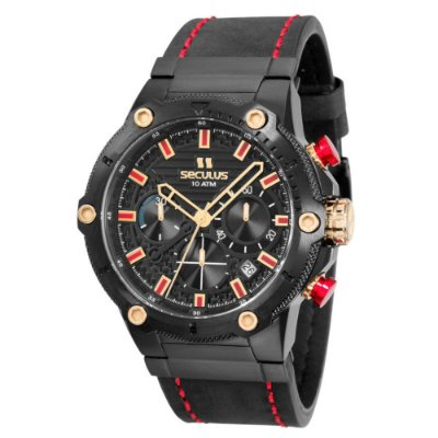Relógio Seculus Masculino 13012GPSVPC1