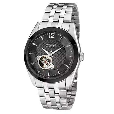 Relógio Magnum Masculino Esqueleto Automático MA31486T