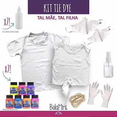 Kit Tie Dye | Camisetas adulto e infantil