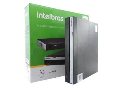 GRAVADOR INTELBRAS MHDX 3108 - DVR DE 8 CANAIS - S/ HD