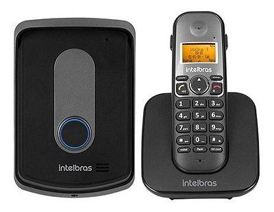 TELEFONE SEM FIO COM RAMAL EXTERNO TIS 5010