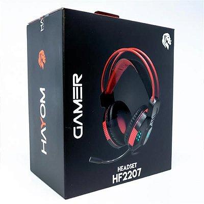 HEADSET GAMER HAYOM - HF2207 - 0080902-01