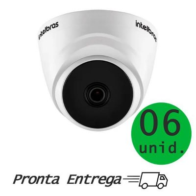 CAMERA INTELBRAS VHD 1220 D G4 1080P HDCVI - C/ 6 UNIDADES